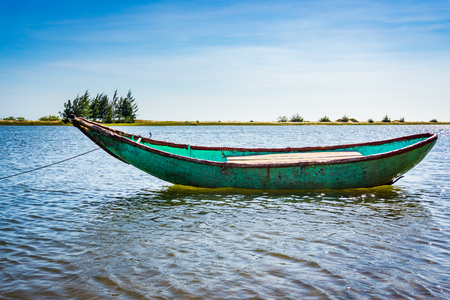 ange: Boat in the river