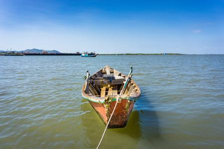 The boat anchor  Banco de Imagens