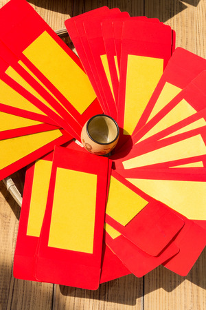 Chinese New Year Red Envelope Stock Photo