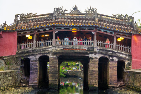 Japanese covered bridge Vietnam