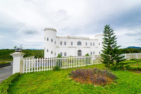 The white castle in Da Lat Viet Nam