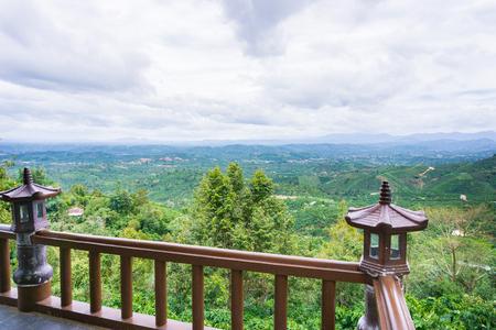 loc: Landscape of pagoda in Bao Loc Viet Nam