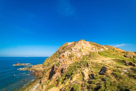 Beautiful nature of Eo Gio beach in Qui Nhon Vietnam