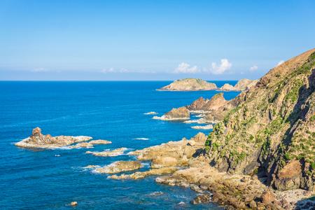 Beautiful nature of Eo Gio sea in Qui Nhon Vietnam