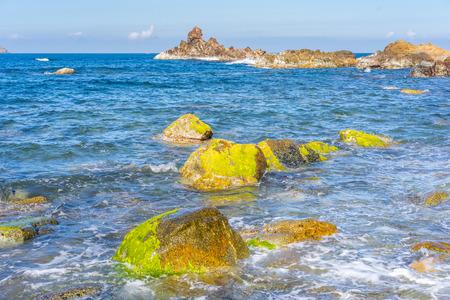 The beauty beach in Eo Gio Qui Nhon Vietnam Banco de Imagens