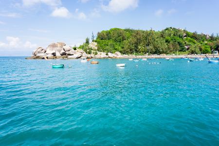 cu: Cu Lao Xanh island in Qui Nhon Vietnam