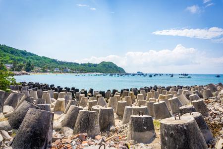 cu: Beautiful landscape of island in Qui Nhon Vietnam
