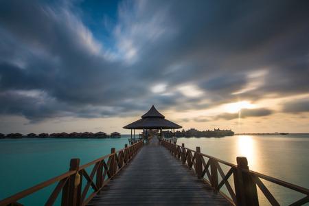 mabul: Sunrise at MABUL ISLAND