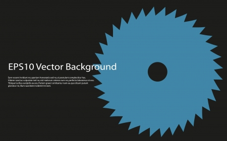 circular saw Stock Vector - 17472090