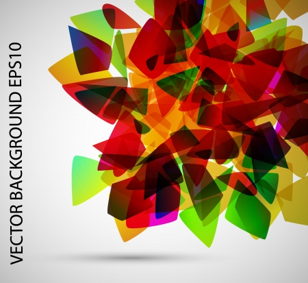 bright colors Vector