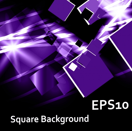 purple square Vector