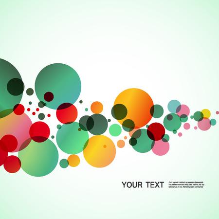 kleurrijke cirkels