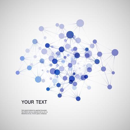 DNA background Illustration