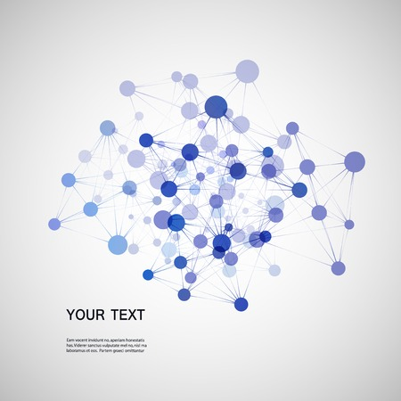 DNA background Ilustrace