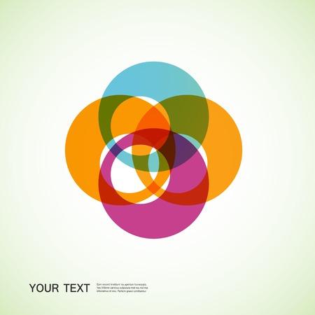 abstracte vormen: ronde abstracte vormen