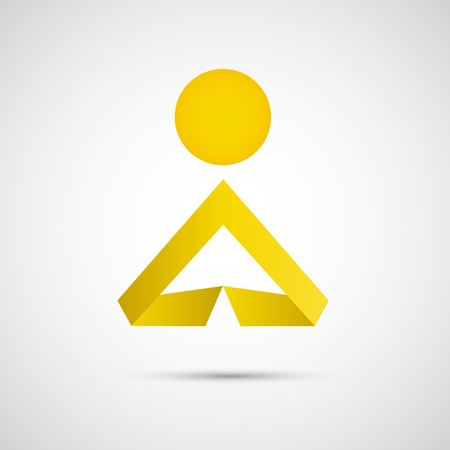 Vector icons of man Creative simple design Illustration