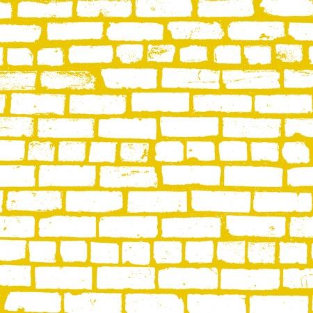 Simple vector background of old brickwork design Illustration