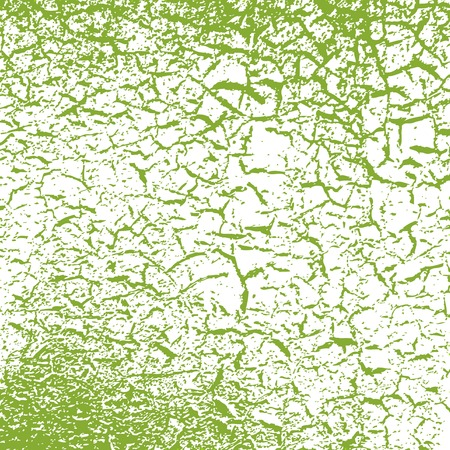 Simple vector background of old cracked paint Vector