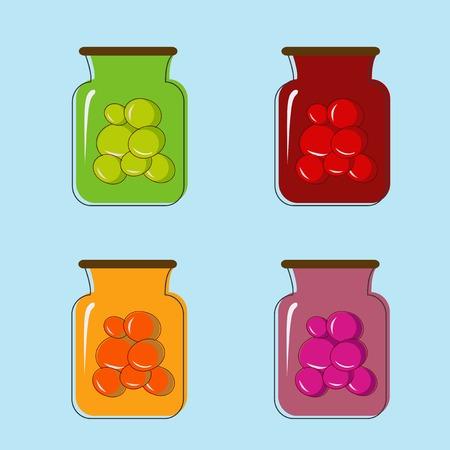frutta sciroppata: Bank con sede in scatola succo di frutta