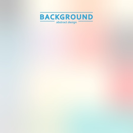 universally: Elegant, blur, color vector simple design eps