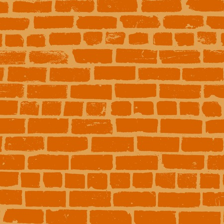 Simple vector background of old brickwork design 向量圖像