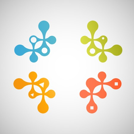 squiggles: technology pattern icon