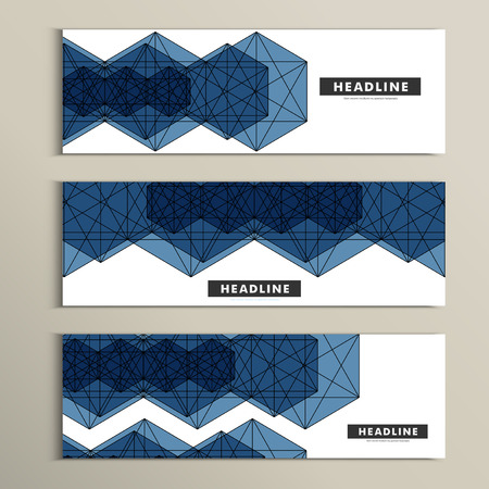 periodicals: Vector set of stylish modern line textures.