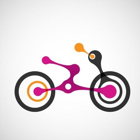 moto: Vector abstract moto transport .