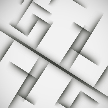 Simple light background of an abstract gray lines. Illustration