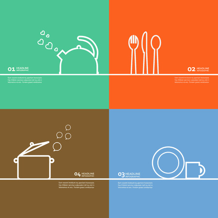 utensilios de cocina: Juego de utensilios de caldera, olla, cuchara, tenedor, cuchillo, platillo.