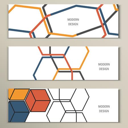 Prachtige vector patroon van de zeshoekige net.