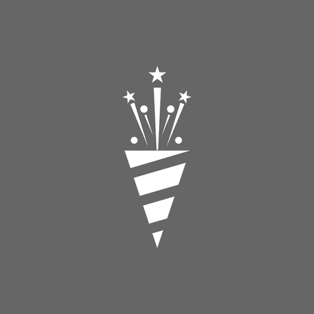 detonating: Icon Christmas slapstick for holiday season.