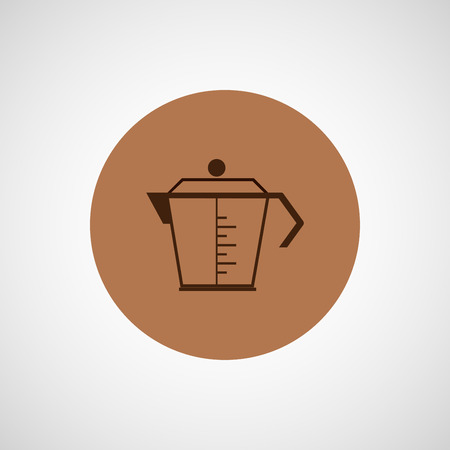 coffeepot: Coffee vector design. coffeepot icon.