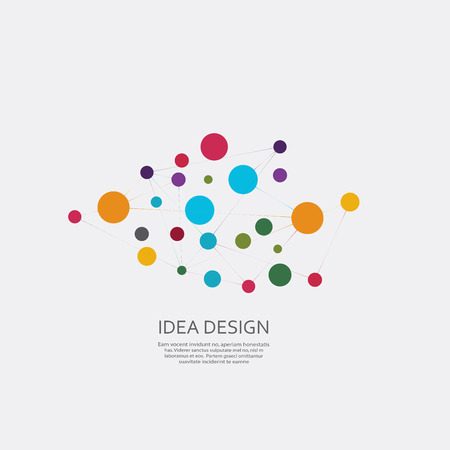 Illustraties Vector verbinden ontwerp