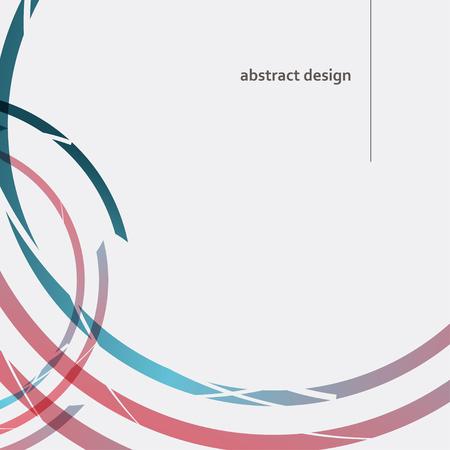 Modern circle vector illustration. Concept design.