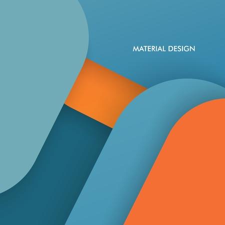 modern material: Illustration of modern material design. Vector background. Illustration
