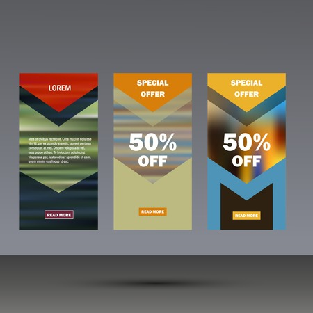 graphic presentation: Vector brochure flyer modern design template. Illustration