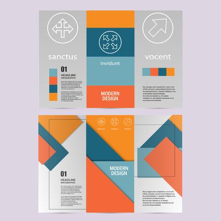 modern material: Vector background of modern material design.