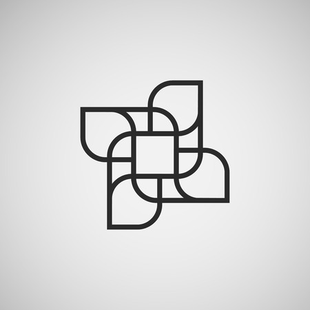 abstract figures: Vector abstract figures. template  design.