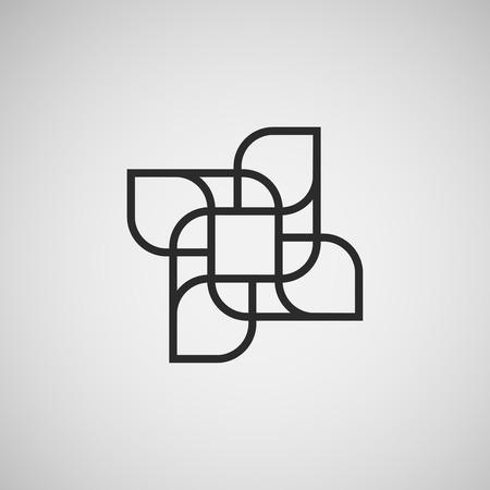 figuras abstractas: Vector figuras abstractas. diseño de la plantilla. Vectores