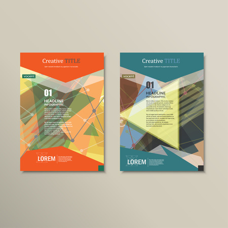 layout: brochure layout design template.