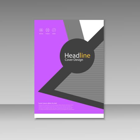 layout: Vector Brochure Design Layout template. Illustration