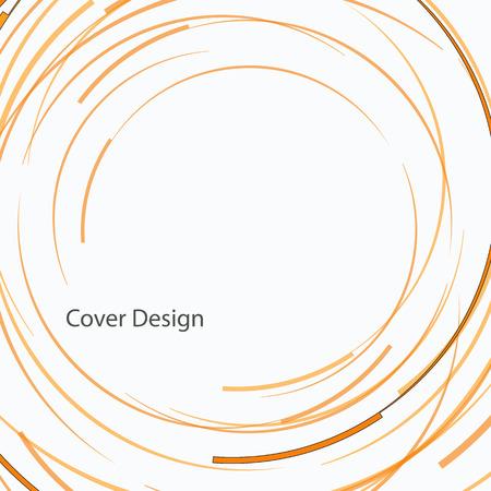 moody: Vector abstract circle design.