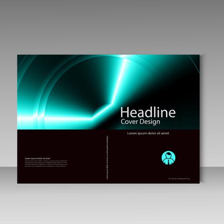 magazine design: Brochure template layout, cover design annual report, magazine, flyer, magazine, booklet.