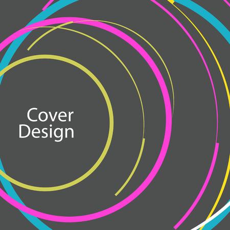 circle design: Abstract line circle design.