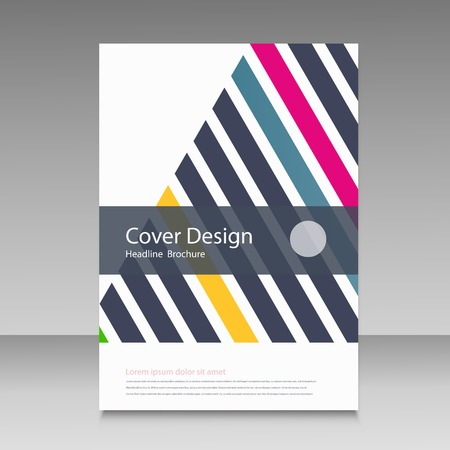 cover: Triangle line brochure cover.