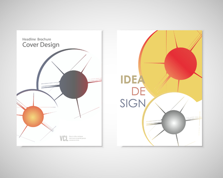 holes: Bullet Holes in brochure Illustration