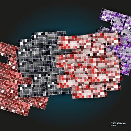 Abstract new design hexagons