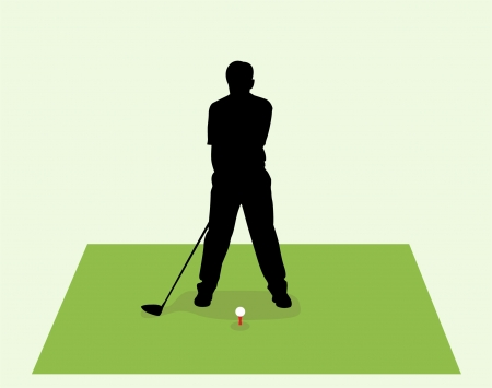 tee off Illustration