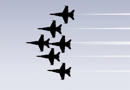 航空ショー: ジェット戦闘機